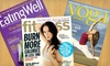Up to Half Off Health and Yoga Magazines
