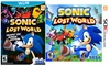 Sonic Lost World for Wii U or 3DS: Sonic Lost World for Wii U or 3DS