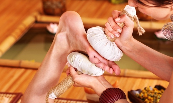 Indian Massage - Indian Massage: One or Three Visits for Herbal Hands and Feet Reflexology Treatments at Indian Massage (Up to 43% Off)