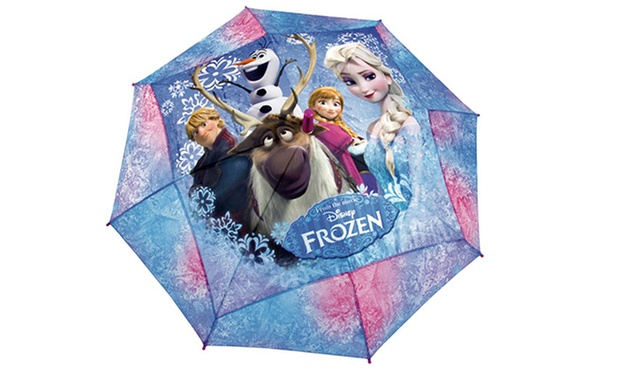 parapluies disney la reine des neiges violetta ou spiderman d s 9 90 jusqu 55 de. Black Bedroom Furniture Sets. Home Design Ideas