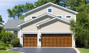 Sears Garage Doors: Garage-Door Tune-Up and Safety Inspection with Option for Whisper Rollers from Sears Garage Doors (Up to 57% Off)