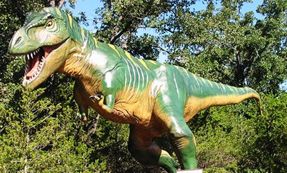 image for $14 for Admission for Two to The Dinosaur Park ($18)
