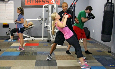 Two or Four Weeks of Unlimited Small-Group Training at Fitness 4u (Up to 90% Off)