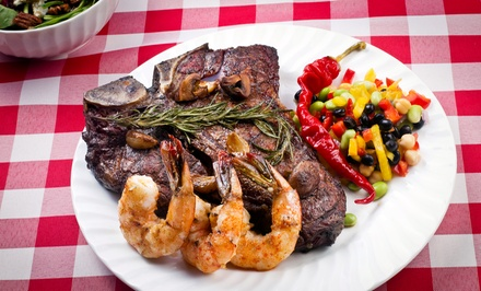 $17 for $30 Worth of Steakhouse Dinner for Two or More at Scotch 'n Sirloin