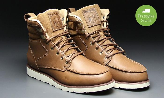 Męskie buty Reebok na zimę   Groupon