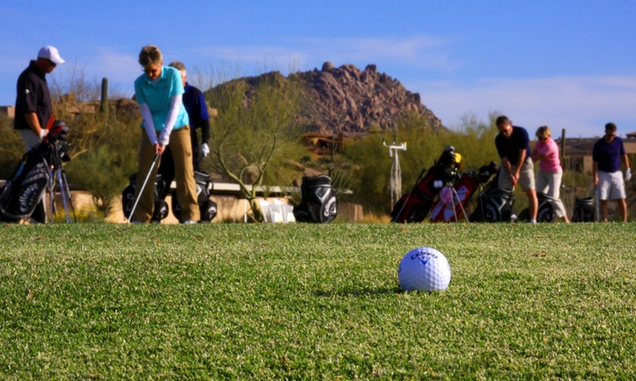 Troon North Golf Club - Troon North: 3, 6, or 10 One-Hour Group Golf Lessons at Troon North Golf Club (Up to 54% Off)