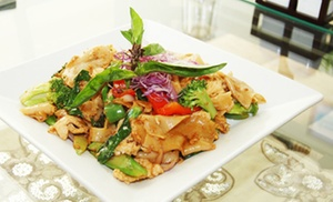 Mae Kong Thai: Thai Food at Mae Kong Thai (48% Off). Two Options Available.