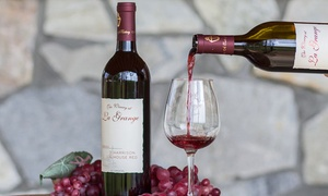 The Winery at La Grange: Wine Tasting with Take-Home Glasses for Two or Four at The Winery at La Grange (Up to 48% Off)