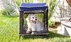 Quik Shade Instant Outdoor Pet Kennels: Quik Shade Instant Outdoor Pet Kennels