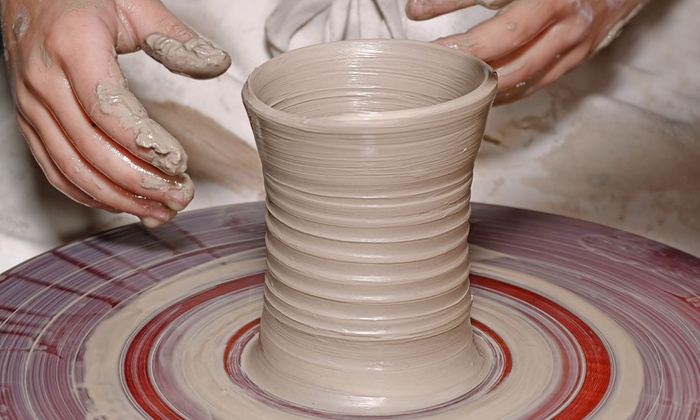Desert Dragon Pottery - Phoenix: Mini Taste of Pottery Event for Two or Four, or Party Package for Four at Desert Dragon Pottery (Up to 56% Off)