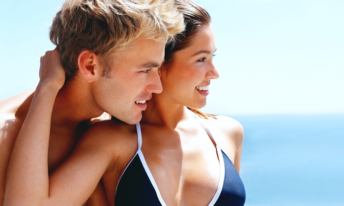 Sunsations Mystic Tan - Granada Hills North: $25 for a Airbronze Spray Tan for the Legs at Sunsations Mystic Tan ($69 Value)