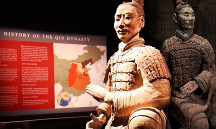 Houston Museum of Natural Science - The Museum District: Terra Cotta Warrior Exhibit and Museum Access for Two or Four at Houston Museum of Natural Science (Up to Half Off)