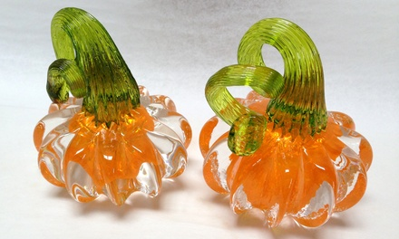 $49 for a Make-Your-Own Pumpkin Paperweight Workshop at Slow Burn Glass ($125 Value)