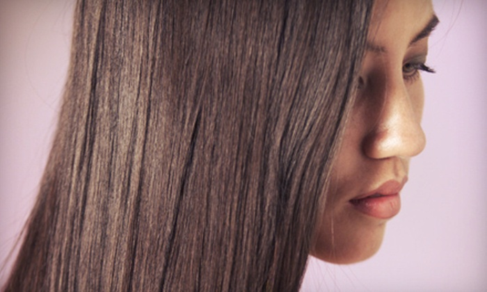 Pixie Salon - Atlanta: One, Two, or Three Hair-Smoothing Treatments at Pixie Salon (Up to 77% Off)