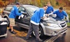 Waves Car Wash - West Roxbury: $30 for Five Extreme Car Washes with Wax and Tire Shine at Waves Car Wash (Up to $100 Value)