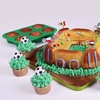 2-Piece Sports-Themed Silicone Baking Set