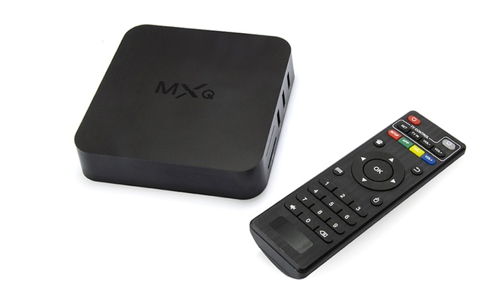 MXQ Amlogic S805 Quad Core Kodi TV Box