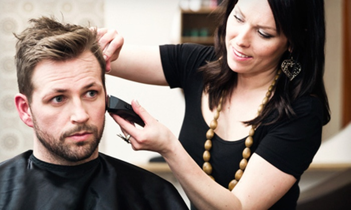Jim's Barber Shop - Dallas: Two Men's Haircuts with Optional Beard Trimming from Matt Croxford at Jim's Barber Shop (Half Off)