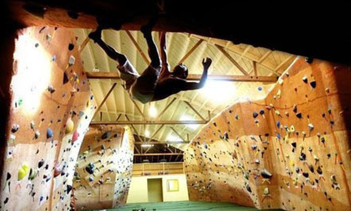 Bridges Rock Gym - El Cerrito: Three or Five Indoor Rock-Climbing and Fitness Visits at Bridges Rock Gym (Up to 75% Off)