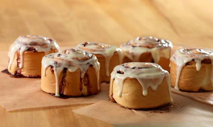 $12 for Two Groupons, Each Good for $10 Worth of Cinnamon Rolls at Cinnabon ($20 Value)