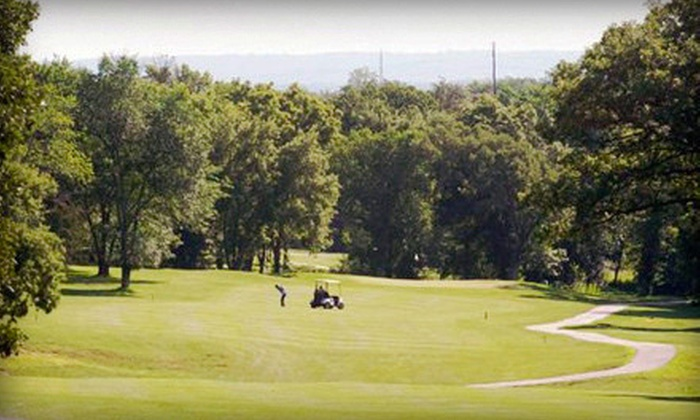 Bay Hills Golf Club - Bay Hills Golf Club: $36 for an 18-Hole Round of Golf with Cart Rental and Range Balls for Two at Bay Hills Golf Club (Up to $72 Value)