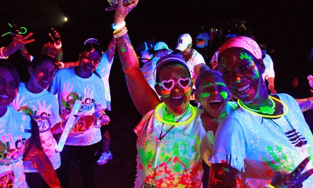 $25 for Color and Glow Run 5K Entry, T-Shirt, and Glow Gear on Saturday, November 1 (Up to $55 Value)