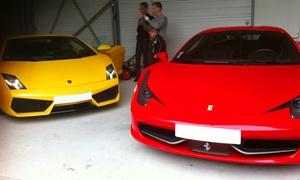 Lambosport: Baptême de conduite sur route de 15 ou 30 minutes au volant d'une Lamborghiniet/ou Ferrari 458 dès 69 € avec Lambosport
