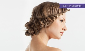 Hush Salon & Spa: Blow Dry Style with Optional Braids or Moroccanoil Treatments at Hush Salon & Spa (Up to 65% Off)
