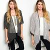 Women's Lace and Fringe Printed Kimonos