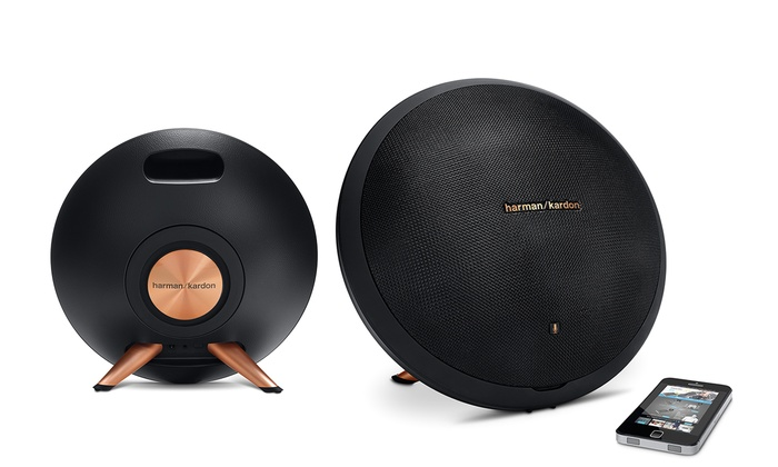 Harman Kardon Onyx Studio 8 Bluetooth Speaker with Built-in Microphone