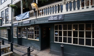 The Cloak and Dagger Tour: The Cloak and Dagger Tour with Show and Pub Discount for Up to Four (Up to 63% Off)