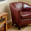 Carlton Bonded Leather Club Chairs