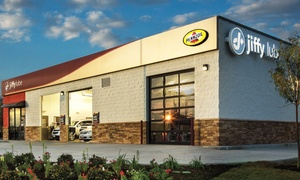 Jiffy Lube: Jiffy Lube Signature Service Oil Change and Rain-X Original Glass Treatment (Up to 40% Off)