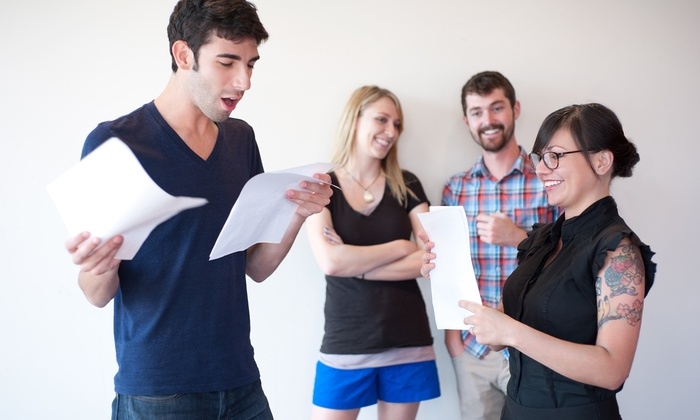Witty Entertainment - Multiple Locations: Acting Course for One or Two or Three Acting Courses for One at Witty Entertainment (Up to 77% Off)