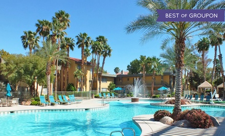 groupon daily deal - Stay at Alexis Park All Suite Resort in Las Vegas, with Dates into June