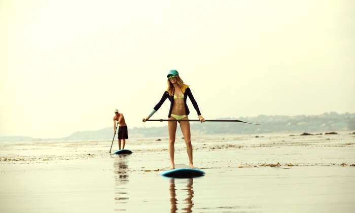 Poseidon Stand Up Paddle - Downtown Santa Monica: All-Day Stand Up Paddleboard Rental for One or Two at Poseidon Standup Paddle (Up to 54% Off)