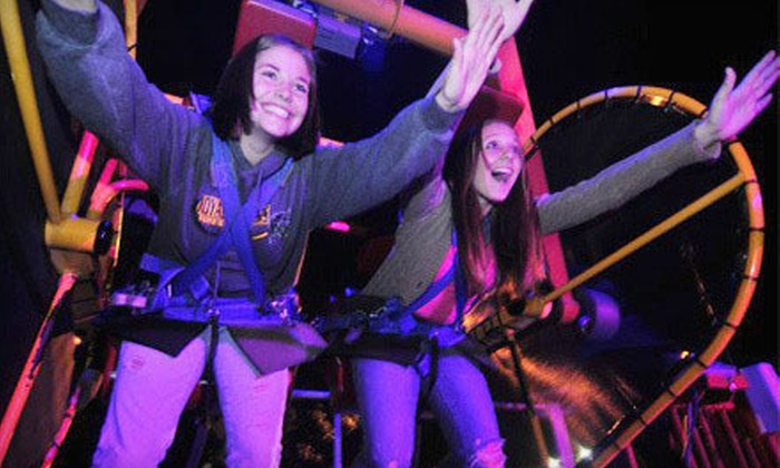 Timber Falls Adventure Park - Sauk Hill: Half Off Adventure-Park Outing in Wisconsin Dells