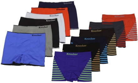 Men's Seamless Boxer Briefs (6-Pack)