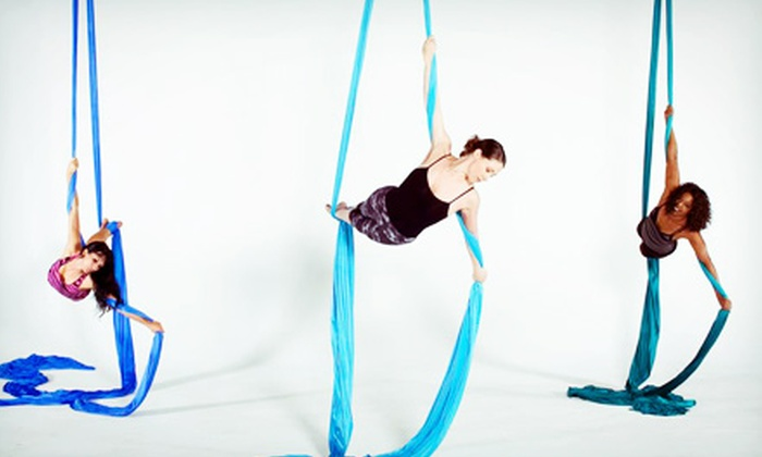 Sky Gym - Sandy Springs: Four or Eight Aerial-Dance Classes at Sky Gym (Up to 66% Off)