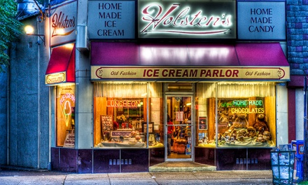 Classic Diner Food and Homemade Ice Cream at Holsten's (Up to 40% Off). Two Options Available.