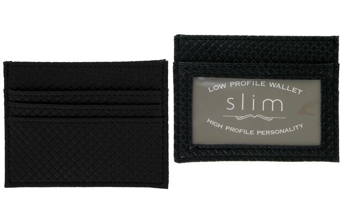 Slim Unisex Low-Profile Wallet