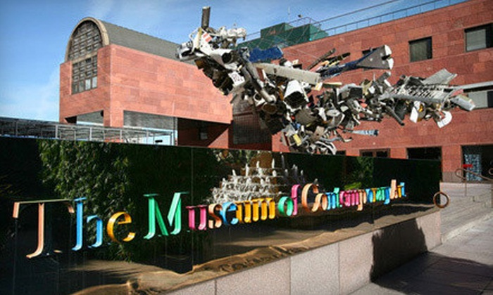 The Museum of Contemporary Art - Multiple Locations: The Museum of Contemporary Art Visit for Two or Four or Contributing Membership (Up to 58% Off)