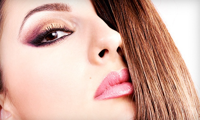 Dye Hair Salon - Downtown Royal Oak: Haircut or Highlights Package at Dye Hair Salon (Up to 61% Off)