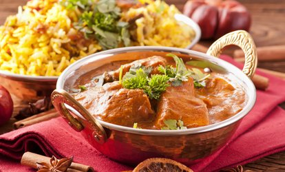 image for Two-Course Indian Meal with Wine or Beer for Two or Four at Karachi Cuisine (Up to 59% Off)