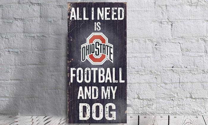 NCAA Football and My Dog Signs
