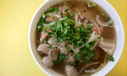 Vietnamese Cuisine at Pho Ethan (Up to 44% Off). Two Options Available.