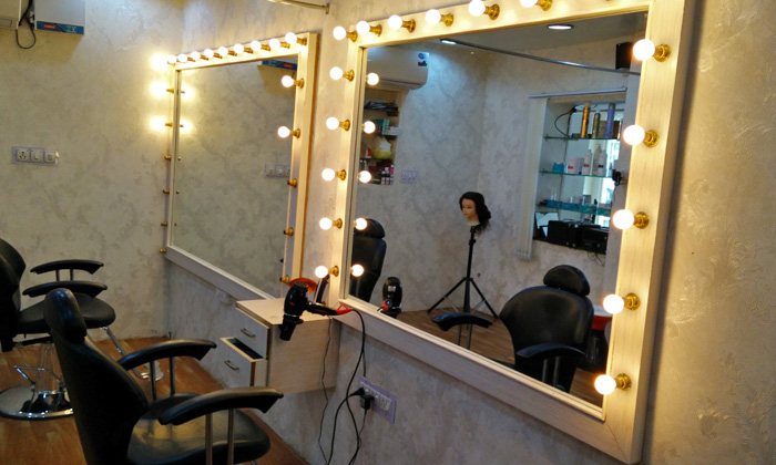 Hair beauty services at make over studio by hema for Adamo salon malviya nagar
