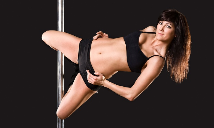 Romance and Dance Pole Aerobics - Multiple Locations: Three or Eight Pole-Dancing Classes or 30 Days of Unlimited Classes at Romance and Dance Pole Aerobics (Up to 80 Off)