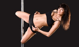 Romance and Dance Pole Aerobics: Three or Eight Pole-Dancing Classes or 30 Days of Unlimited Classes at Romance and Dance Pole Aerobics (Up to 80 Off)