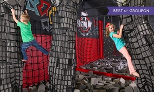 Krazy Air Trampoline Park: Two Hours of Jump Time and Medium Sodas for Two or Four at Krazy Air Trampoline Park (Up to 26% Off)